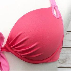 Victoria's Secret Swim - Victoria Secret Hot Pink Bikini Swim Top